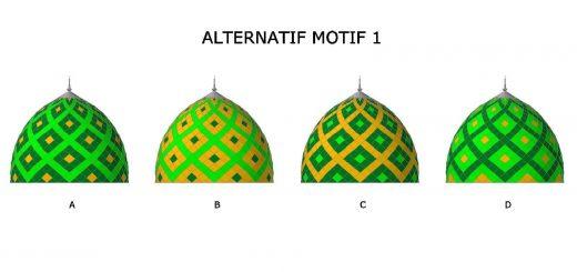 motif, warna, cat, katalog, brosur, model, kubah, masjid, contoh, desain