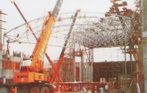 space frame, canopy, struktur rangka