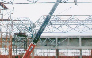 space frame, space truss, mini tower,crane