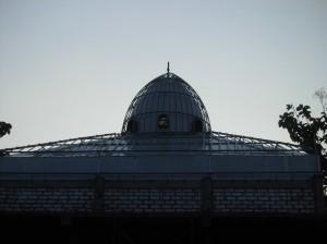 atap,kubah masjid,kedap air,anti bocor,ringan,polycarbonate,putih pekat
