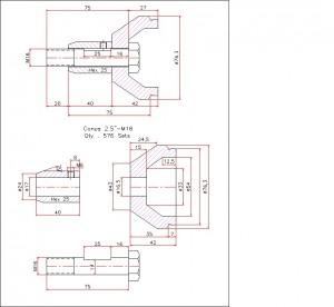space frame, rangka, struktur, conus, hexagon, bola, htb, sambungan