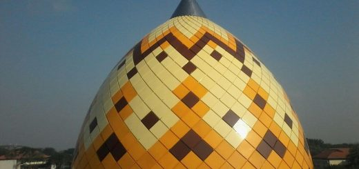 kubah masjid,rangka,struktur,pipa,hollow,atap,masjid,enamel,galvalum,warna,cat,bahan,plat,steel,stainless,steel,plat,enamel,stainless,warna,krem,coklat,kuning